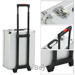 1099pcs Portable Rolling Tool Box with Tools Mechanic Tool Set Kit Case Organizer