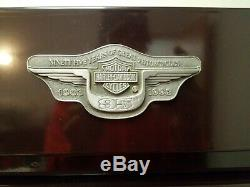 1998 SNAP-ON HARLEY DAVIDSON 95TH ANNIVERSARY ROLLING TOOL BOX rare used