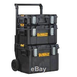 22 in. Portable Tool Box Cart Rolling Professional Storage Organizer 3pcs Best