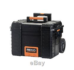 3 Piece Combo Deal Tool Box Portable Rolling Cart Professional Storage Organizer