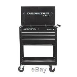 30 Rolling Tool Cart withLocks 4 Drawers Store Tools Great For Home/Shop/Garage
