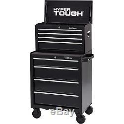 4 Drawer Rolling Tool Cabinet Mechanic Garage Steel Chest Storage Box Organizer