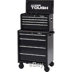 4 Drawer Rolling Tool Chest Metal Cabinet Wheels Portable Storage Sliding Box