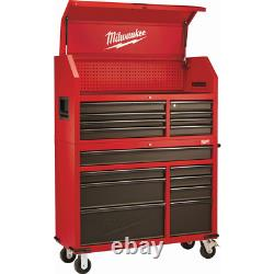46 16 Drawer Steel Tool Chest Rolling Cabinet Angle Iron Reinforced Frame