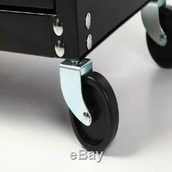 5-Drawer Rolling Tool Box Chest Storage Cabinet Garage Organizer Riser 20-Inch