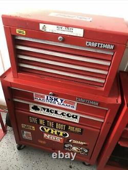 8 drawer Craftsman rolling toolbox