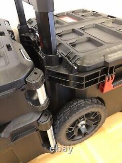 Black Limited Edition Milwaukee Packout Tool Box Storage System Same As 48224800