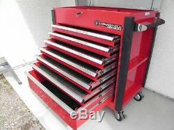 CORNWELL CTBMM800 Mobile Work Center LARGE 7-Drawer Roll Cart Tool Box