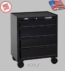 CRAFTSMAN 1000 Series 4-Drawer Steel Rolling Tool Cabinet Storage Stackable NEW