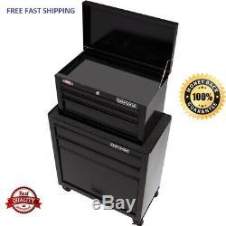 CRAFTSMAN 1000 Series 5-Drawer Rolling Tool Cabinet Combo Black FREE SHIPPING