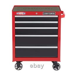 CRAFTSMAN 2000 Series 26.5-in W x 34-in H 5-Drawer Steel Rolling Tool Cabinet
