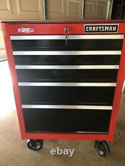 CRAFTSMAN 2000 Series 5-Drawer Steel Rolling Tool Cabinet Local Pickup Only