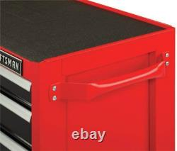 CRAFTSMAN Tool Chest with Drawer Liner Roll/Tray Set 52 8 Drawer Red CMST82774RB