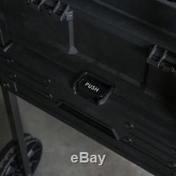 CRAFTSMAN Wheeled Tool Box 1-Drawer Plastic Metal Lockable Rolling Workstation