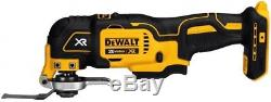 Cordless Combo Tool Kit 20V MAX Drill Driver Grinder Saws Rolling Toolbox Dewalt
