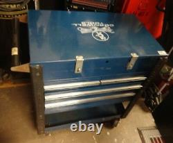 Cornwell Blue TOOLBOX Rolling Cart LOCAL PICKUP ONLY! Heavy Duty