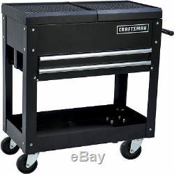 Craftsman 31 2 Drawer 1 Shelf Mechanic Rolling Tool Cart DIY Garage Organizer