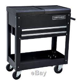Craftsman 31 In. 2 Drawer Rolling Toolbox Garage Storage Tool Cart Box Wheeled