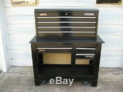 Craftsman 41 4-Drawer Top Tool Box / Chest Plus Roll Around Storage Cabinet