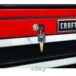 Craftsman 52 10-Drawer Heavy-Duty Rolling Cart Tools Toolbox Garage Mechanic