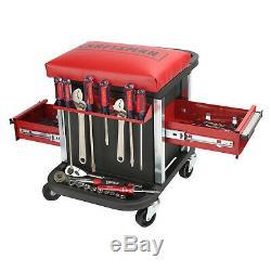 Craftsman Rolling Tool Chest Seat Mechanic's Garage Stool Organizer Box Gift