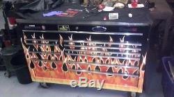 Custom Classic 78 Roll Cab Snap On Tool Box