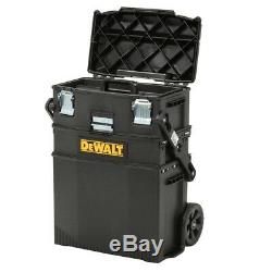 DEWALT Rolling Tool Box Cantilever Toolbox Mobile Work Station Storage Organizer