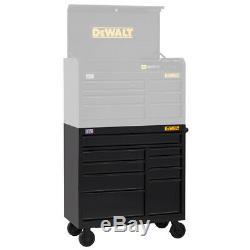 DeWALT DWST24191 41-Inch 900-Series 9-Drawer Storage Rolling Cabinet Black