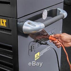 DeWALT DWST25294 52-Inch 900-Series 9-Drawer Rolling Storage Cabinet Black