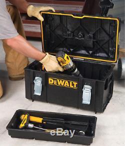 DeWALT Portable Tool Box Cart Rolling Professional Storage Organizer 22 in 3pcs