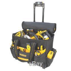 DeWalt DGL571 18 Roller Rolling Tool Bag Box Carrier LED Light Lighted Handle