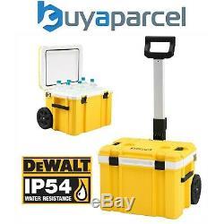 DeWalt DWST83281-1 Tstak Cooler Cool Box IP54 Trolley Rolling Mobile Box +Handle