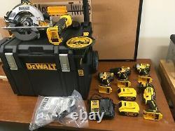 DeWalt FLEXVOLT ADVANTAGE 6 TOOL KIT WITH TOUGHSYSTEM ROLLING BOX DCKTS600M2