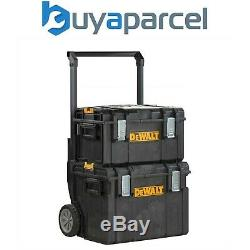 Dewalt DS450 Toughsystem Rolling Mobile Tool Storage Box Trolley + DS300 Case