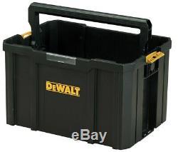 Dewalt DWST1-75799 TStak Tower Rolling Mobile Tool Boxes 3 Tstak Storage Cases