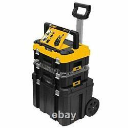 Dewalt DWST1-81049 TStak Tower Rolling Mobile Tool Storage Boxes