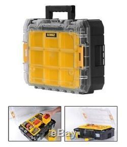 Dewalt DWST1-81049 TStak Tower Rolling Mobile Tool Storage Boxes 4 Tstak Cases