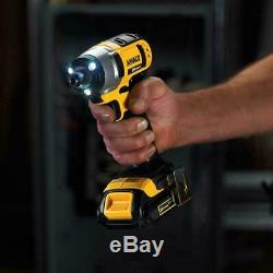 Dewalt Lithium-Ion Combo Kit 20-Volt MAX Cordless Batteries in a Rolling Toolbox