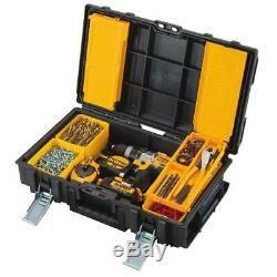 Dewalt Rolling Toolbox on Wheels Travel Storage Chest Organizer 3 pc ToughSystem