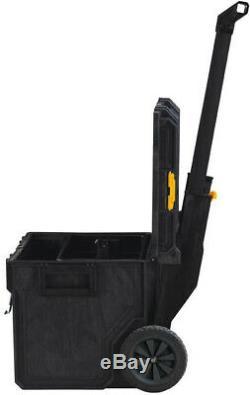Dewalt Tool Storage Box Set Mobile ToughSystem 3-Pcs Rolling Chest Shop Job