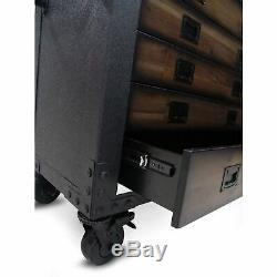 Duramax 36 In. 5-Drawers Rolling Tool Chest with Wood Top