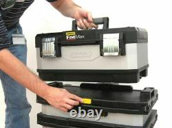Extra large Tool Box On Wheels Rolling Heavy Duty Metal Storage Cabinet Chest