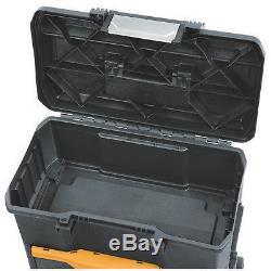 Extreme Durable Rolling Tool Box Storage BTST19803 2 in 1 Hardware Organizer