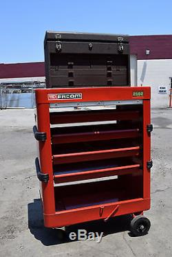 Facom 2502 Kennedy Rolling Trolley Metal Machinist's Tool Chest Box Workstation