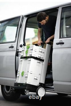 Festool 498660 SYS-Roll 100 Roller for SYS Range Systainer Transporter Brand New