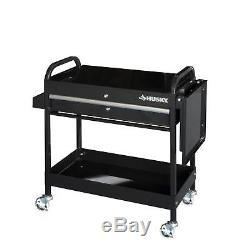 Garage Shop Tool Utility Cart 1 Drawer Rolling Portable Cabinet Box Mechanic 31