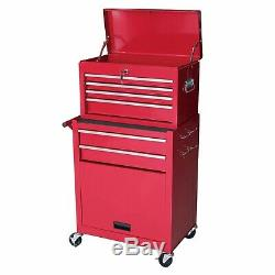 Gstandard 2-Pc. Rolling Tool Storage Chest Red Free Shipping