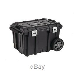 HUSKY Connect Mobile Tool Box Rolling Cart Organizer Chest Wheels Storage Tray