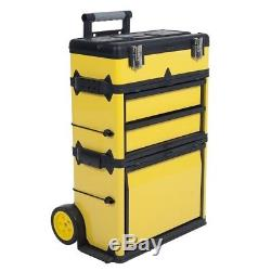 Heavy Duty Rolling Metal Tool Box High Trolley 33 Great Work Vans Trucks Garage