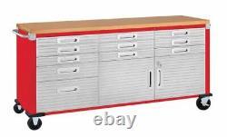 Heavy Duty Seville Classics UltraHD Rolling Workbench Home Garage Storage NEW US